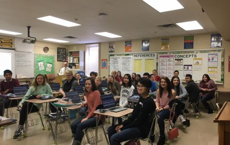 February Teacher of the Month – Mr. Crawford