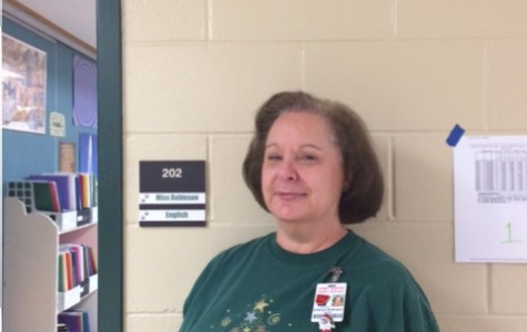 Mrs. Robinson is Teacher of the Month -November