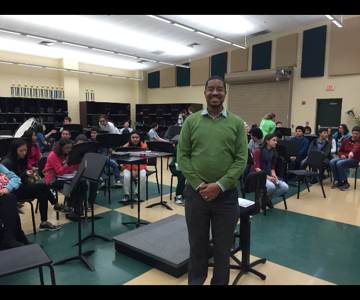 Teacher of the Month- Mr. Stevens