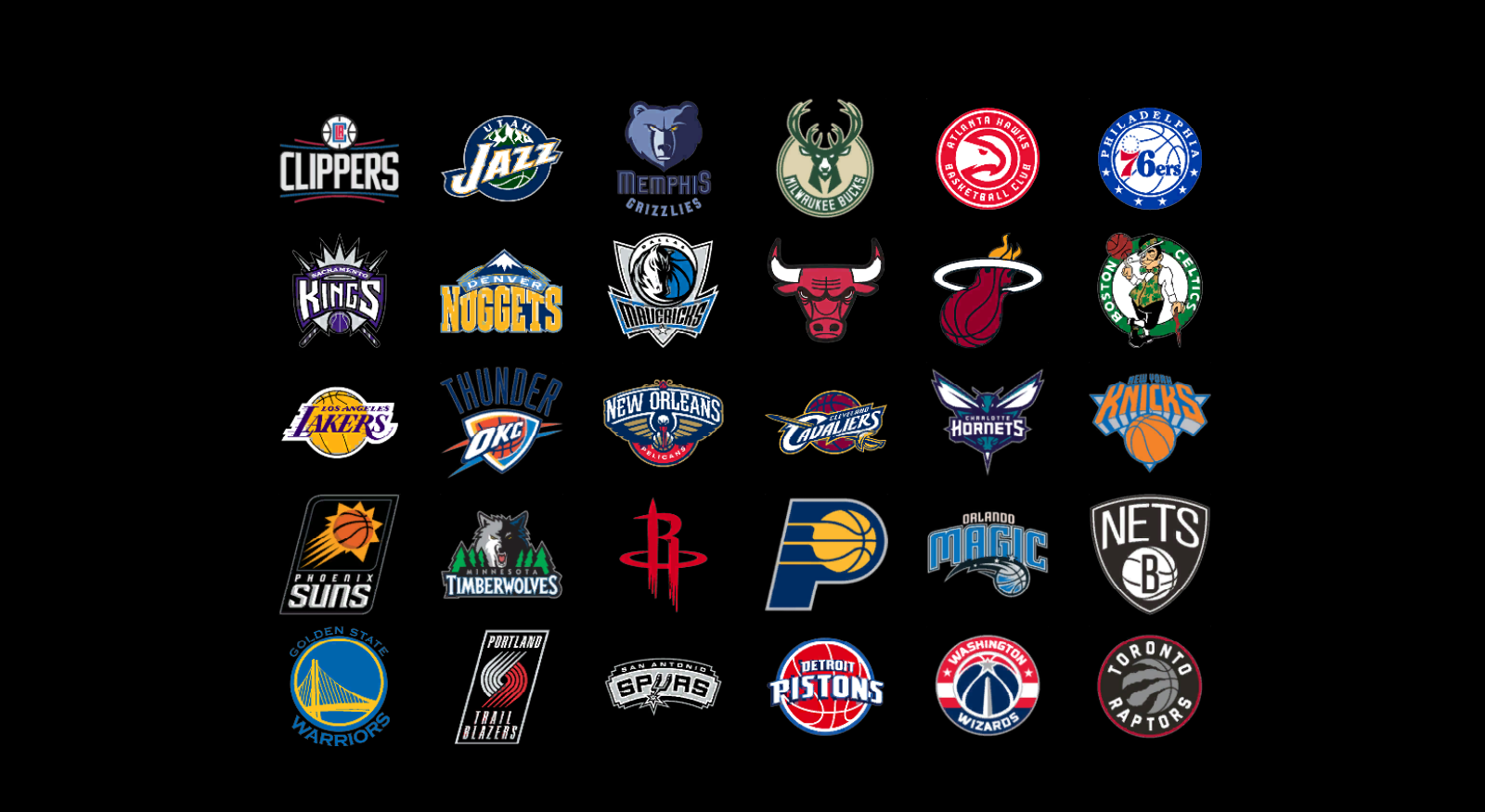 Nba playoffs approaching all 30 teams ranked the cougar - Nba all teams wallpaper ...