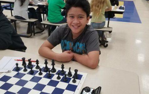 Ricardo Rivera, K-8 Chess State Champion