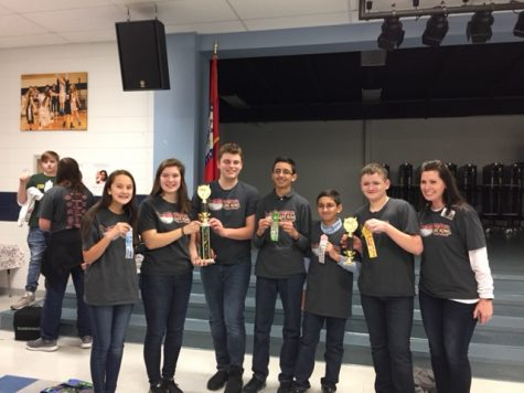 Chaffin's Robotics Team Wins First in Robot Demonstration