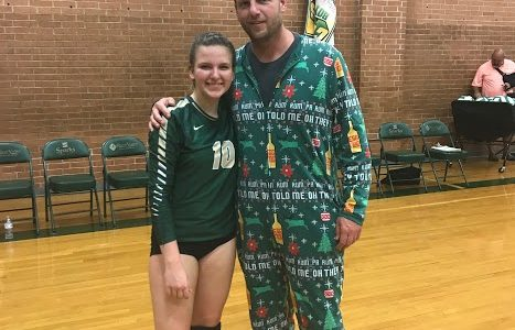 Nobody's Perfect, but Madi Nading and the Freshmen Volleyball Team are Working for a Perfect Record