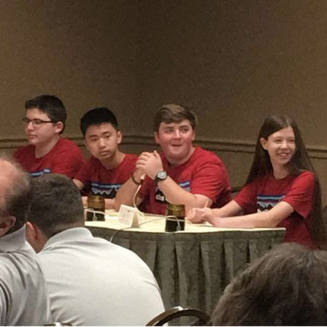 Chaffin Quiz Bowl Buzzes Their First Victory of the Season!