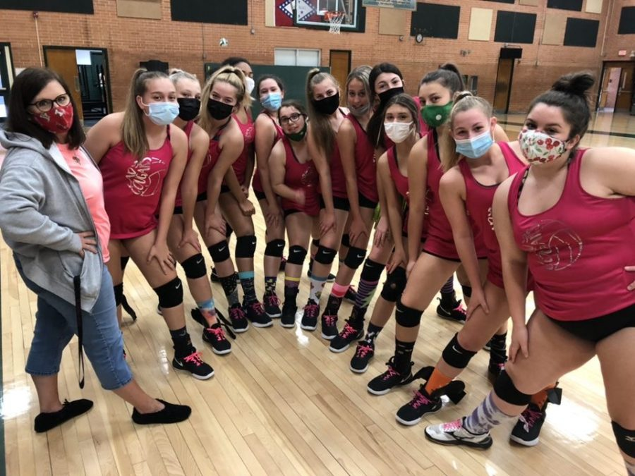Chaffin's Final Freshman Volleyball Team